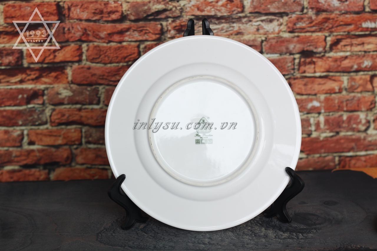 in đĩa sứ giá rẻ
