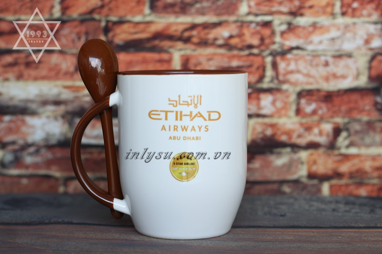Đối tác ETIHAD của xưởng in sứ Vinaly