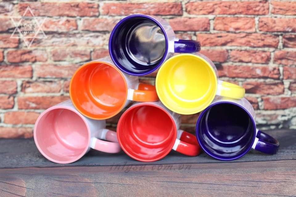 Ly sứ song màu với hơn 10 màu sắc khác nhau