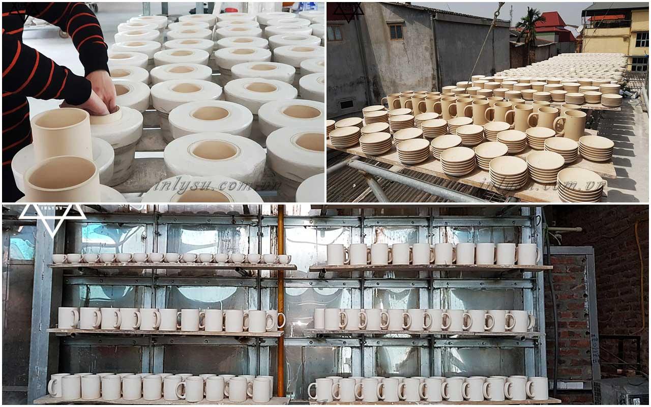 Quy trình sản xuất khép kín nên khách hàng có thể an tâm về chất lượng sản phẩm.