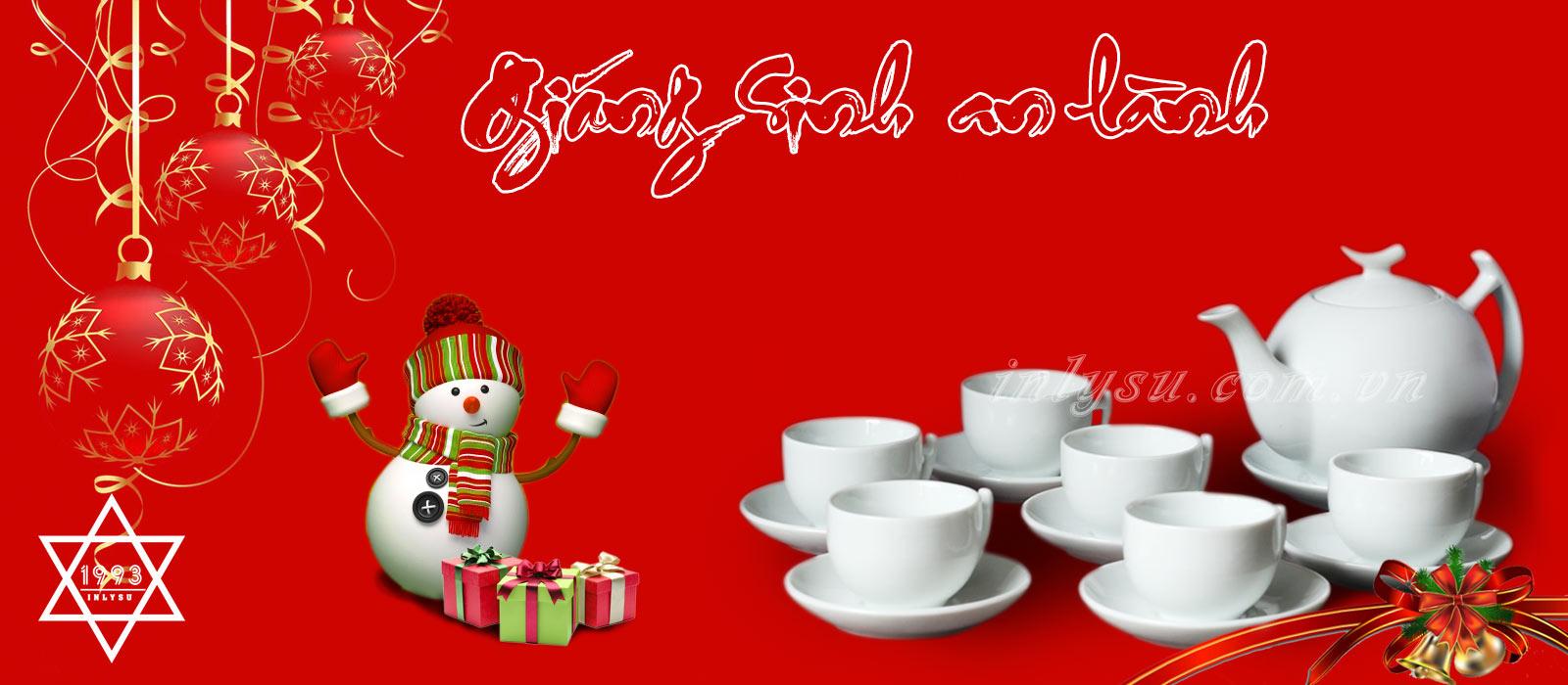 Quà tặng bộ ấm trà trong việc tổ chức tiệc noelcho công ty