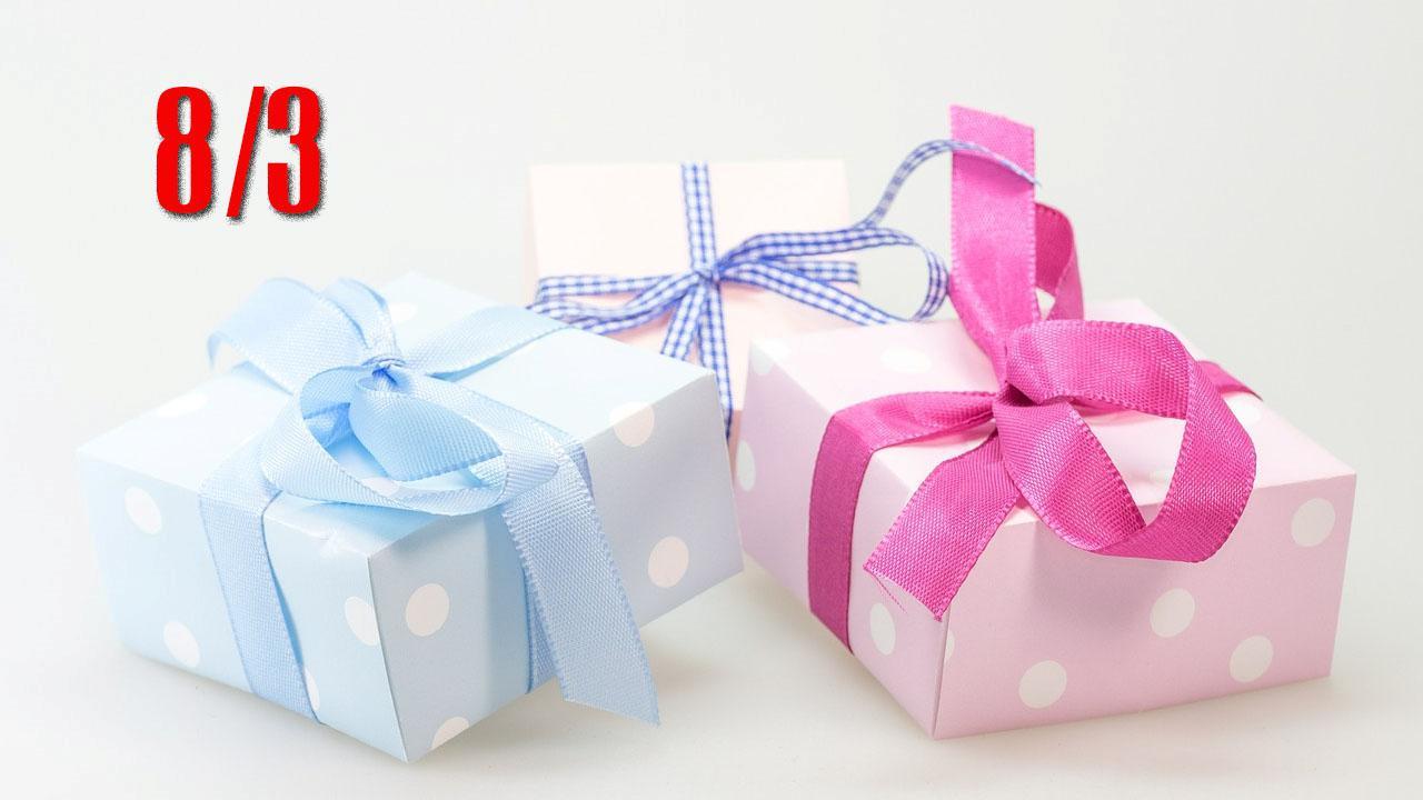 quà tặng 8-3