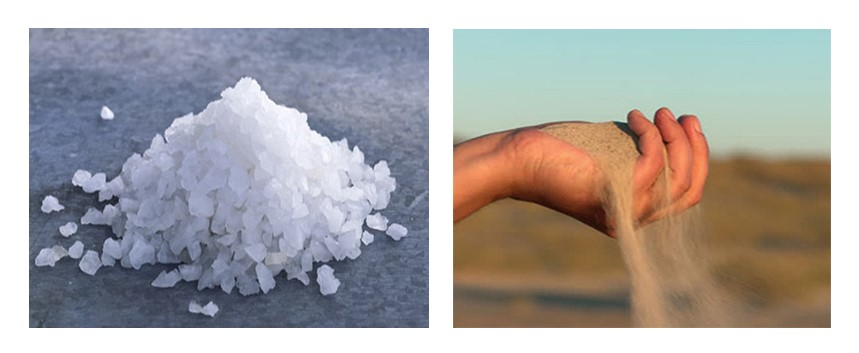 bảo quản gốm sứ - Đánh bay vết ố vàng của gốm sứ bằng cát và muối hột