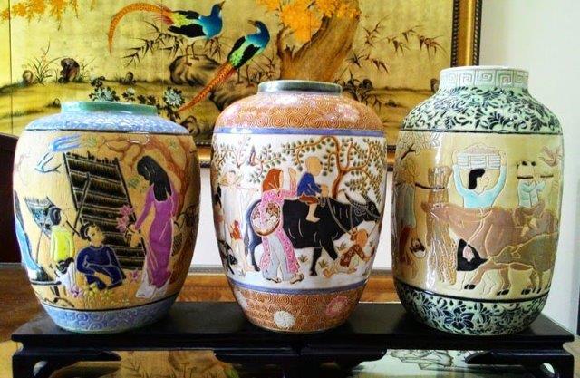 Thương hiệu gốm sứ nổi tiếng gốm mỹ nghệ Biên Hòa hiện nay đã sáng tạo nhiều kiểu mẫu, màu sắc nhưng màu men thì luôn giữ được nét đặc trưng của gốm sứ xưa.