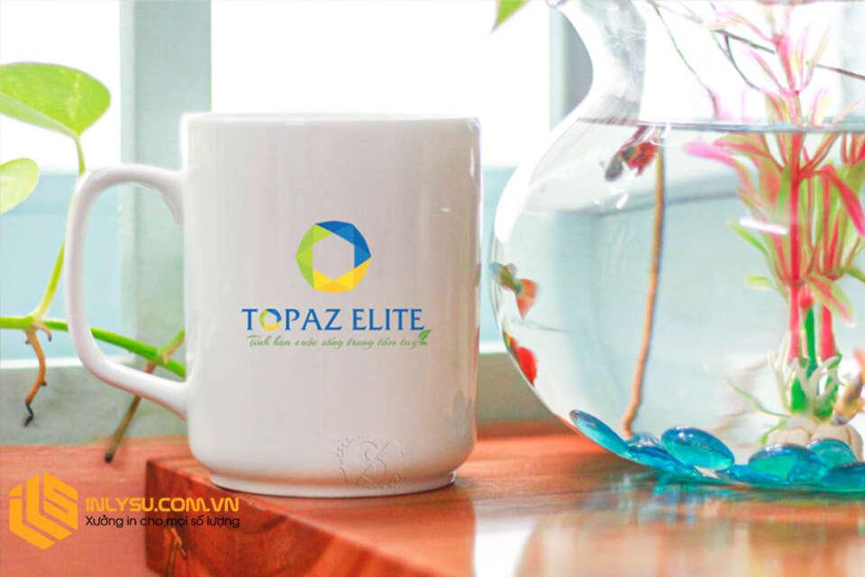 Ly Sứ In logo Topaz Elitle